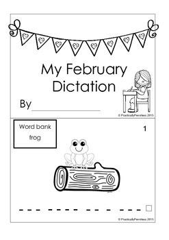 Daily Dictation Sentences for February