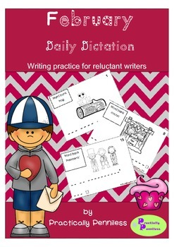 Daily Dictation Sentences for February