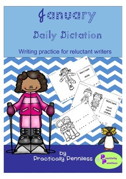 Daily Dictation Sentences for January
