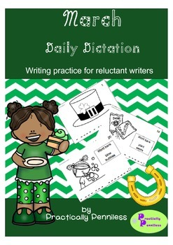 Daily Dictation Sentences for March