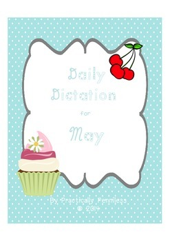 Daily Dictation Sentences for May