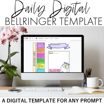 Daily Digital Bellringer Template