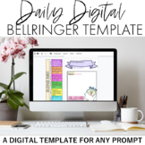 Daily Digital Bellringer Template