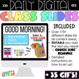 Daily Digital Class Slides