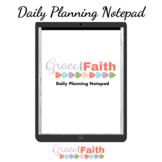 Daily Digital Planning Notepad