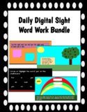 Daily Digital Sight Word Work: 50 Sight Words Included!