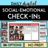 Daily Digital Social-Emotional Check In Pages | Google | H