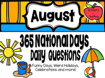 Daily Discussion Slides - August National Days