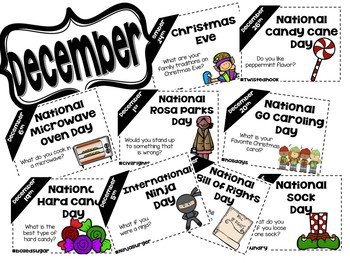 Daily Discussion Slides - December National Days