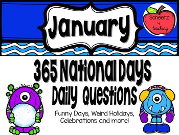 Daily Discussion Slides - January National Days