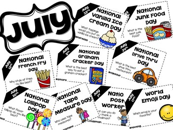Daily Discussion Slides - July National Days