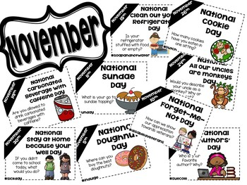 Daily Discussion Slides - November National Days