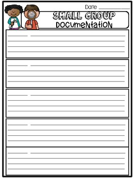 Daily Documentation Sheets