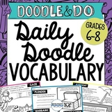 Daily Doodle Vocabulary – Vocabulary Activities for an Ent