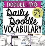 Daily Doodle Vocabulary - Vocabulary Doodles and Writing A