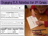 Daily ELA 1/2 sheets BUNDLE