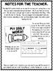 Daily ELA 1/2 sheets SET 3