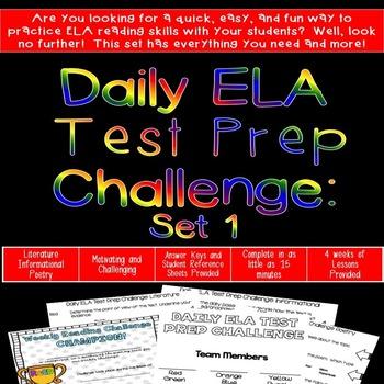 Daily ELA Challenge - Set 1
