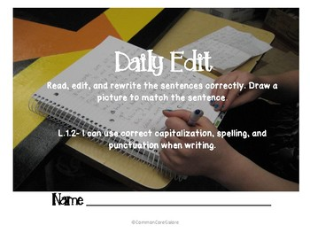 Daily Edit Packet- L.1.2