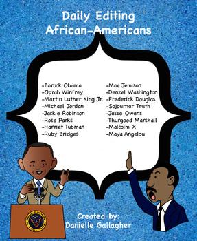 Daily Editing: African-American Unit