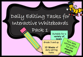 Daily Editing Interactive Whiteboard PowerPoint Australian