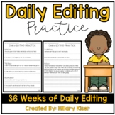 Daily Editing Practice (Distance Learning)