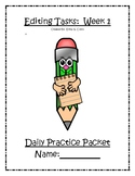 Daily Editing Practice Week 1