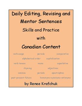 Daily Editing, Revising, and Mentor Sentences