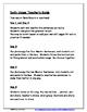 Daily Editing, Revising, and Mentor Sentences (NT)