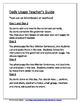 Daily Editing, Revising, and Mentor Sentences (QC)