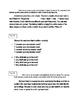 FSA ELA Test Daily Grammar Editing Tasks Practice Days 20-25