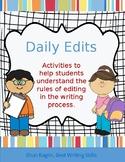 Daily Edits