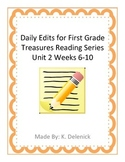 Daily Edits Unit 2 Treasures Reading Series