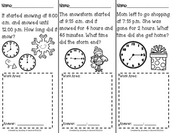 Daily Elapsed Time Tasks PRINT AND GO {December Edition}