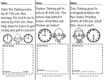 Daily Elapsed Time Tasks PRINT AND GO {November Edition}