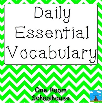 Daily Essential Vocabulary