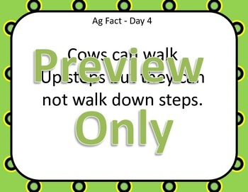 Daily Farm Facts for all Grades! 2nd Edition