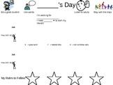 Daily Feedback Chart