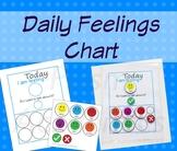 Daily Feelings Chart