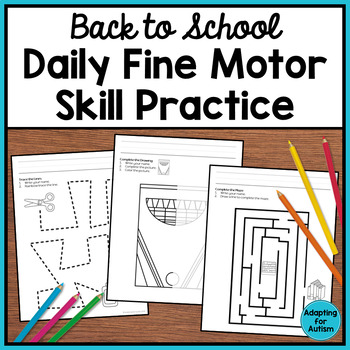 Visual Motor Worksheets Teaching Resources | Teachers Pay Teachers