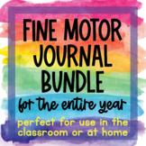 Daily Fine Motor Journal BUNDLE with BONUS handwriting tra