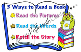 Daily Five- 3 Ways to Read a Book