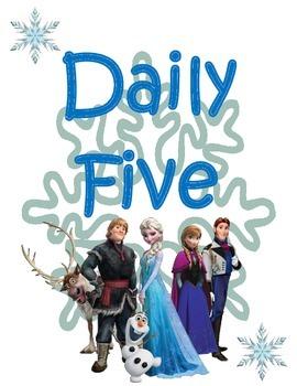Daily Five (5): Frozen Theme