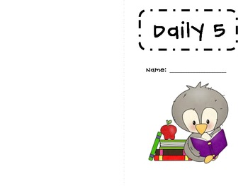 Daily Five Accountability Booklet