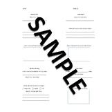 Daily Five Accountability Sheet