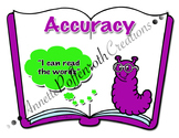 "Daily Five- ""Accuracy"" Cafe Display"