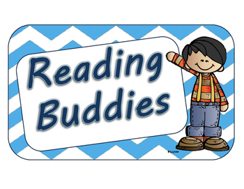 Daily Five Book Buddies Label