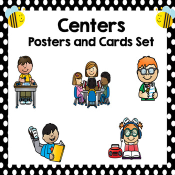Center Cards and Posters- Bee Decor