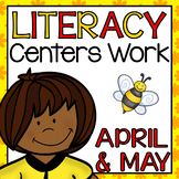 Daily Literacy Centers - April and May