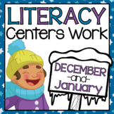 Daily Literacy Centers Work - December and January